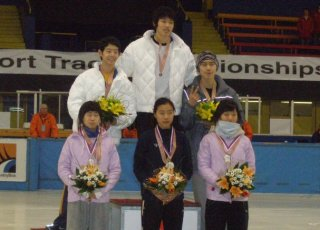 the six Korean medal winners