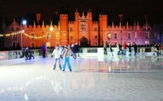 Icerink of Hampton Court Palace - Great Britain