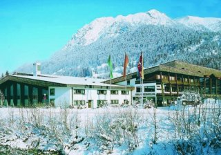 Photo: Eissport Zentrum Oberstdorf in winterseason