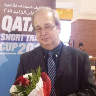 Juraj Valach at the Qatar International Shorttrack Cup 2015